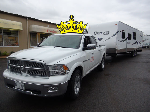 The 2012 RAM. Winner of the 2012 Canadian Truck King Challenge