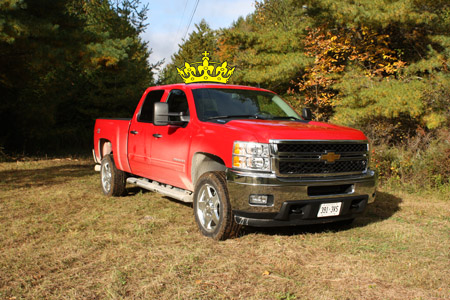 The Winner of the 2011 Canadian Truck King Challenge