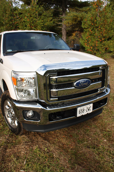 The Ford F-350 Before it Got Muddy