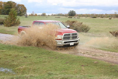 The Dodge Ram 2500 On the Off Road Course