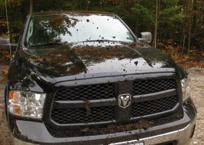 2014 Ram 1500 looks good muddy