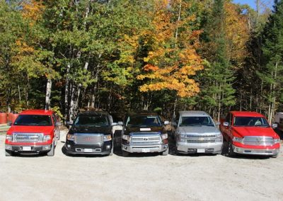 The half-ton lineup for the 2015 CTKC