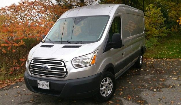 Ford Transit Crowned 2015 Canadian Truck King