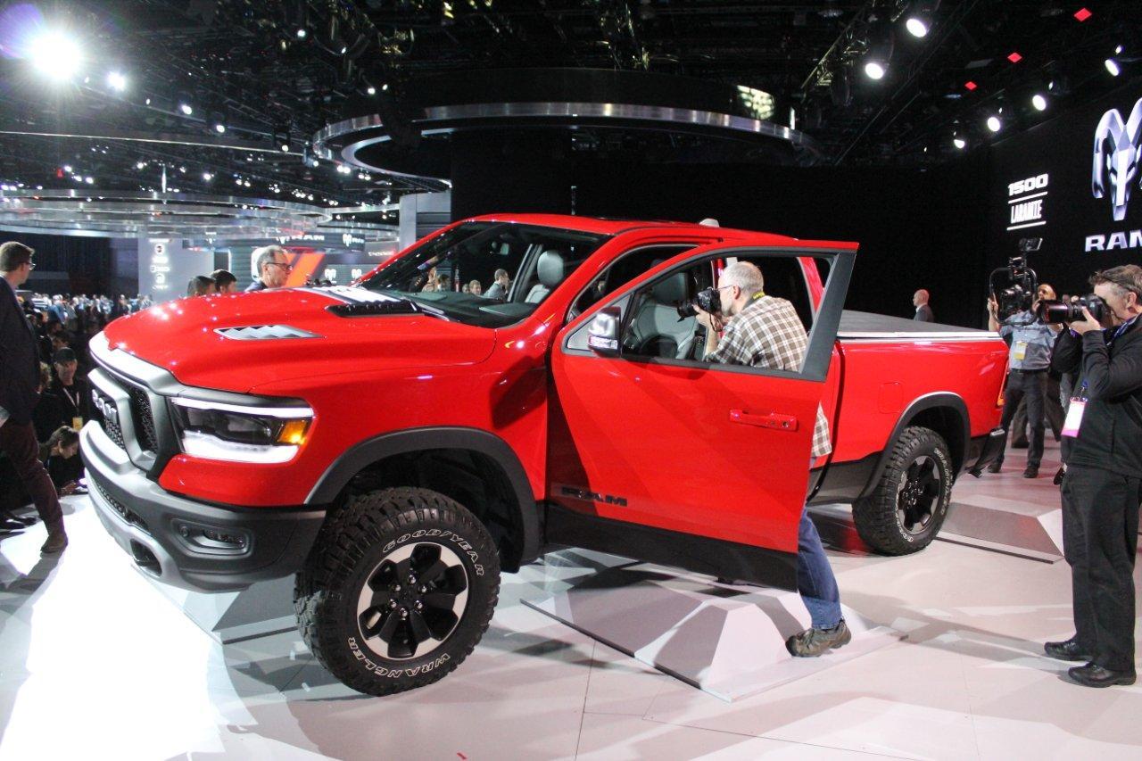 Detroit 2018 - new trucks 130